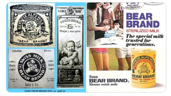 Fakta Menarik Susu Bear Brand, Sudah Ada Sejak 1906!