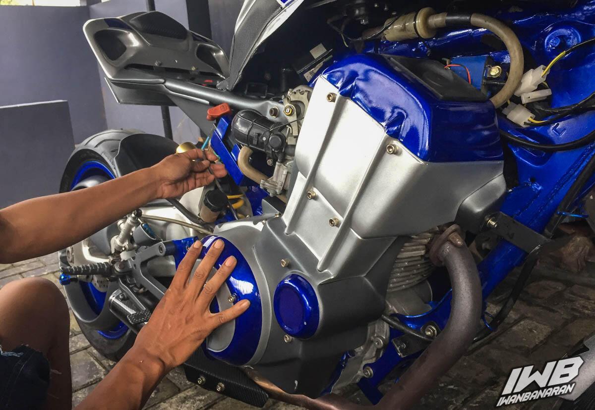 Sukses Nipu Banyak Orang, Sering Dikira Moge Ternyata Cuma Modifikasi Motor Ini