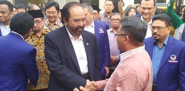 Manuver Nasedem Bentuk Perlawan Terhadap Koalisi Jokowi