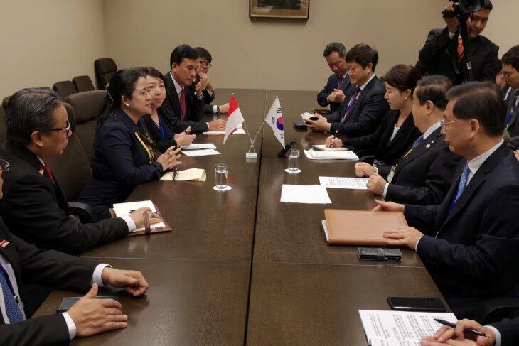 Puan Dukung Terwujudnya Perdamaian di Semenanjung Korea