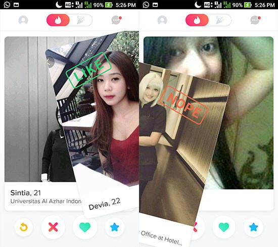 Cara Dapet Cewek / Selingkuhan dari Tinder, Dijamin Swipe Right!