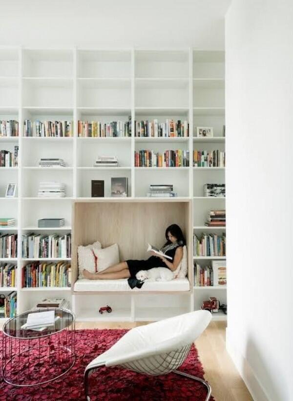 10 Desain Perpustakaan Mini di Rumah, Bisa Jadi Sudut Favoritmu