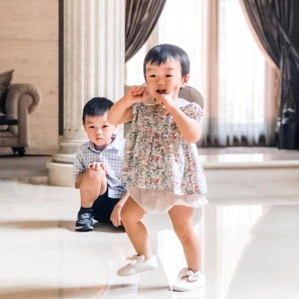 Gemas Banget! 10 Potret Kedekatan Wilford & Amelie, Anak Vania Larissa