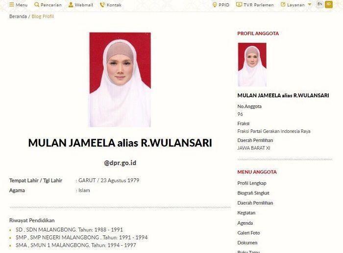 Viral! Mulan Jameela Cuma 3 Tahun di SD, Kelewat Jenius?