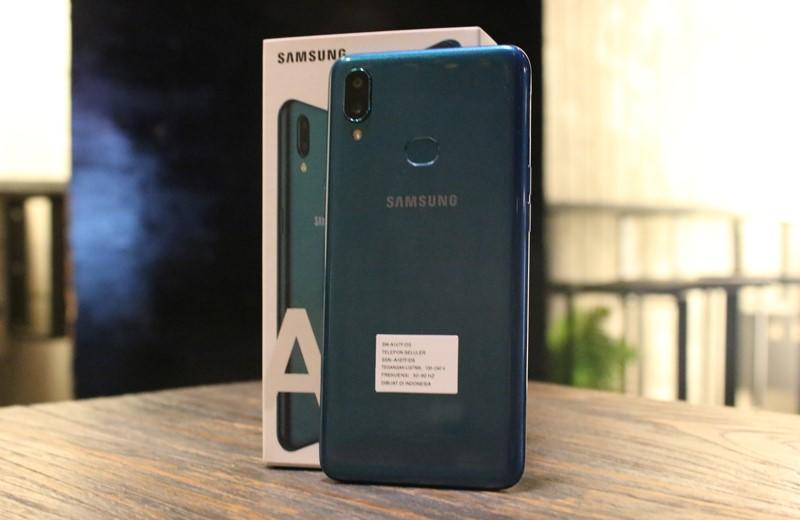 Test Camera & Mainin Call of Duty di Smartphone Satu Jutaan Galaxy A10s
