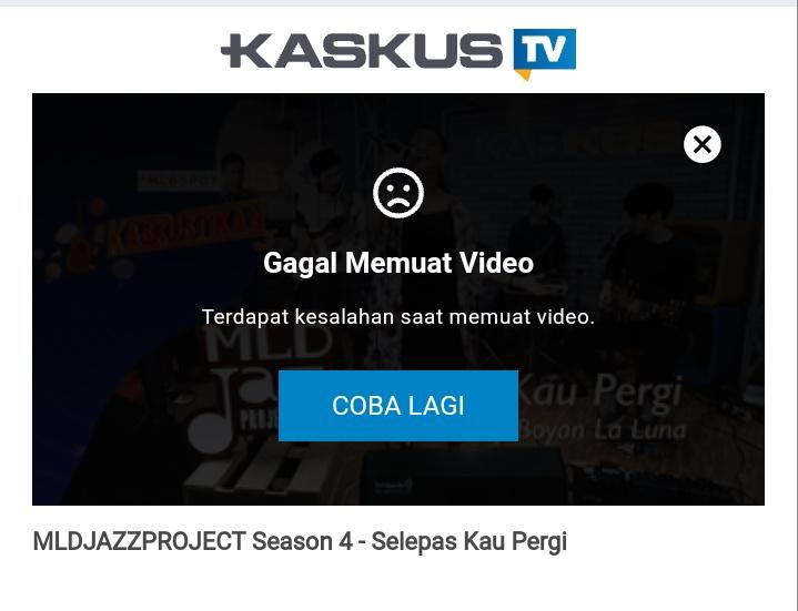 Widget Kaskus TV! Widget Keren dengan Autoplay bikin Banyak View dan Kuota