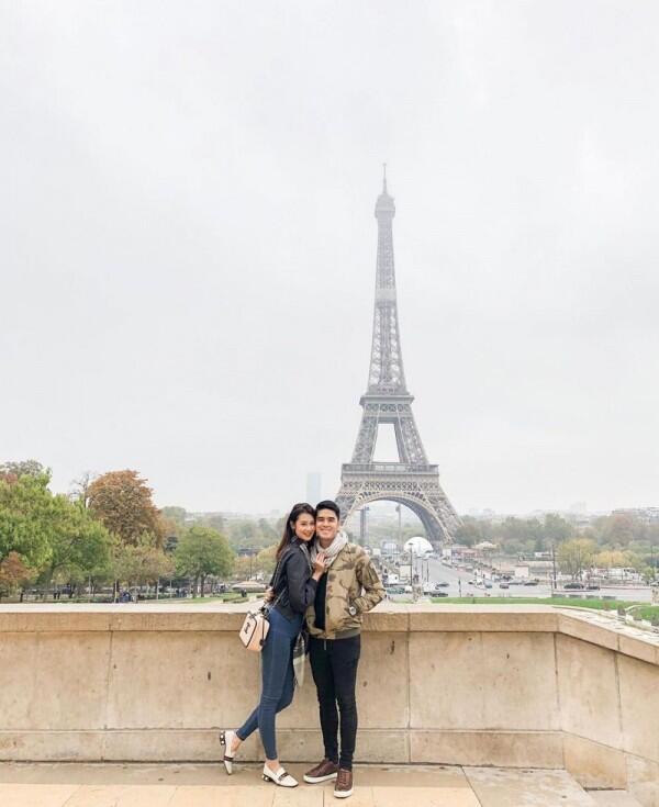 Bak Pacaran, Ini 10 Potret Liburan Amanda Zevannya & Suami ke Eropa