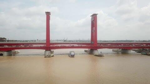Sejarah Jembatan Ampera Merah Palembang, yang Belum Banyak Diketahui!