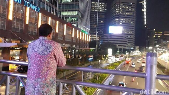 Anies Ungkap Awal Mula Munculnya Ide JPO Tanpa Atap