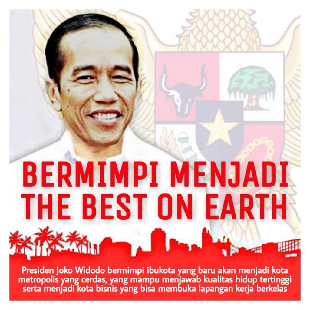 Harapan Presiden Jokowi mengenai Ibu kota Negara yang Baru