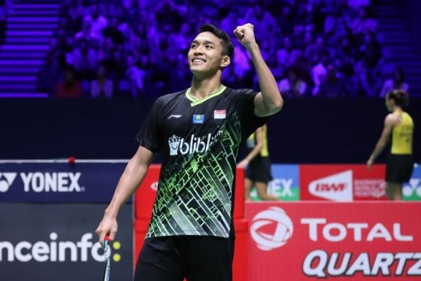 Jonatan Christie Tembus Perempat Final Fuzhou China Open 2019!