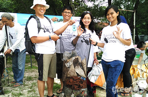 Community Divers Clean Action, Generasi Milenial Menjaga Bumi Indonesia!