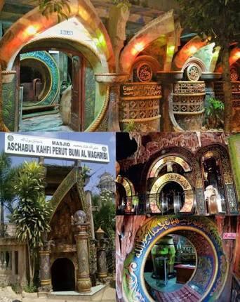 Masjid Di Dalam Perut Bumi, Sumber Inspirasi