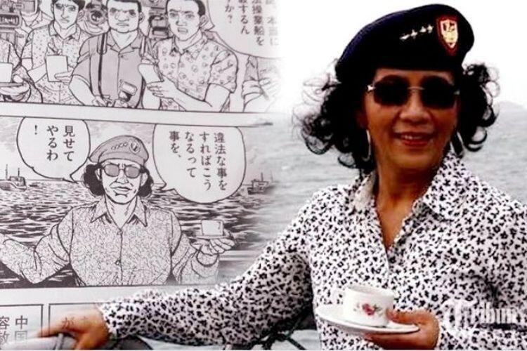 Susi Pudjiastuti, Dulu Penjual Ikan Kini Menjadi Menteri Kelautan