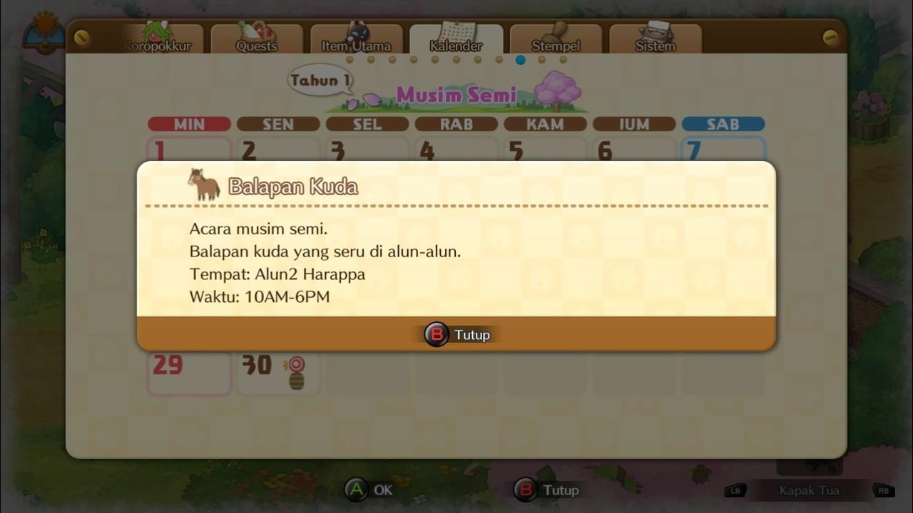 Doraemon Story of Seasons | Patch Bahasa Indonesia