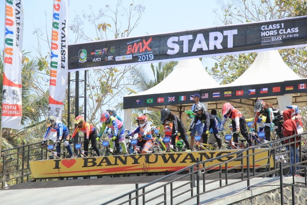 [COC] Balap Sepeda BMX di Banyuwangi Diikuti Atlet Manca Negara