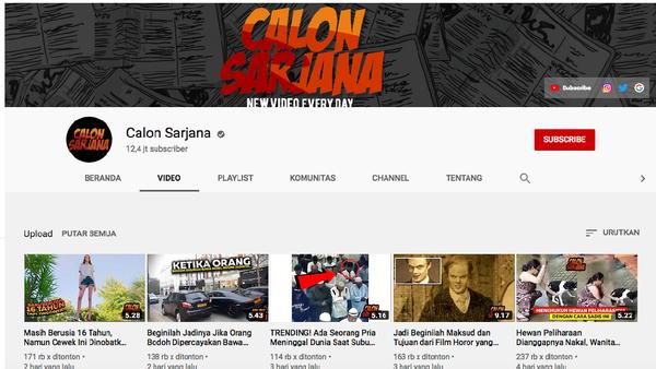 Channel Calon Sarjana Jadi Maling! Realita Keadaan Di Indonesia