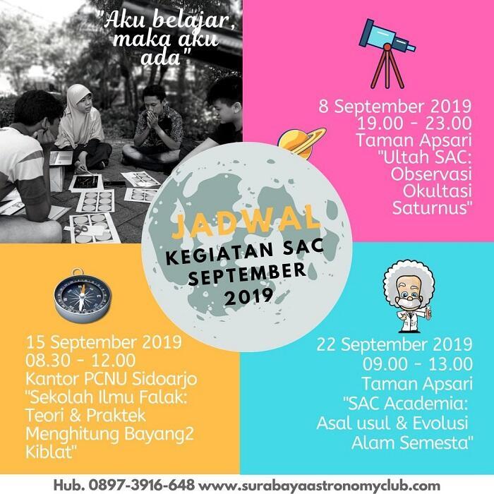 Surabaya Astronomy Club, Astronomi bukanlah Ilmu yang mahal