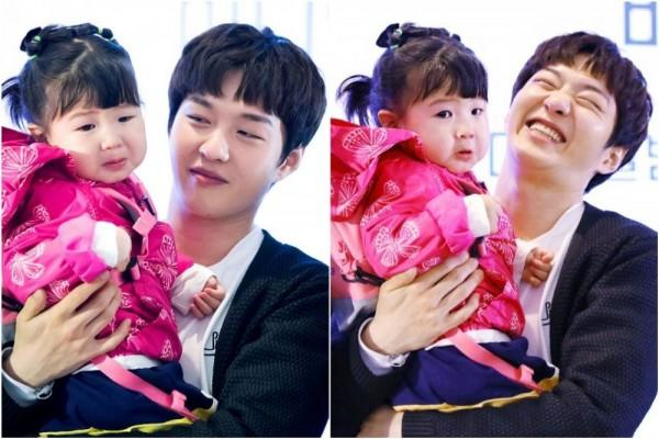 11 Potret Gemas Lee Changsub BTOB dan Anak Kecil, Ayah Idaman