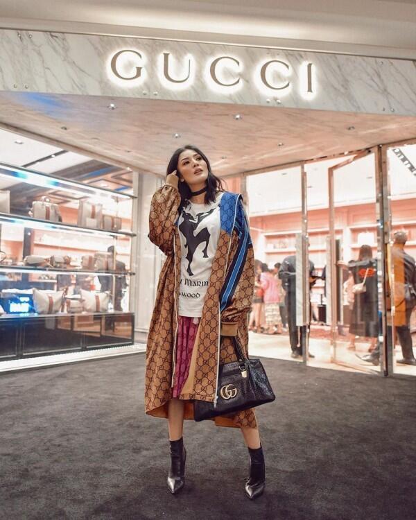 Berkelas dan Elegan, 9 Potret Fashionable Artis di Acara Gucci