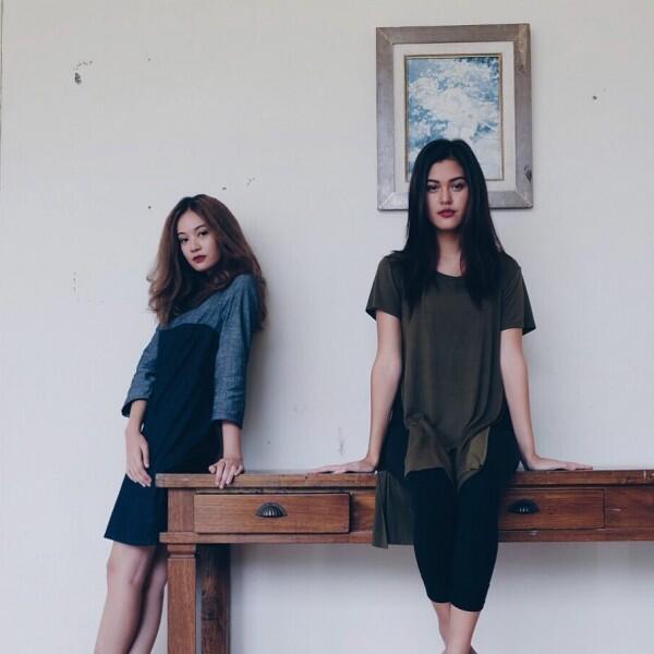10 Potret Persahabatan ala Artis FTV Faradilla Yoshi & Rebecca Tamara