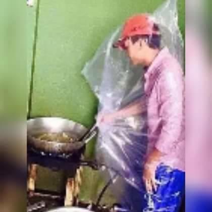 Beginilah Jika Seorang Ayah Masuk Dapur, Konyolnya Bikin Kamu Banting Hape