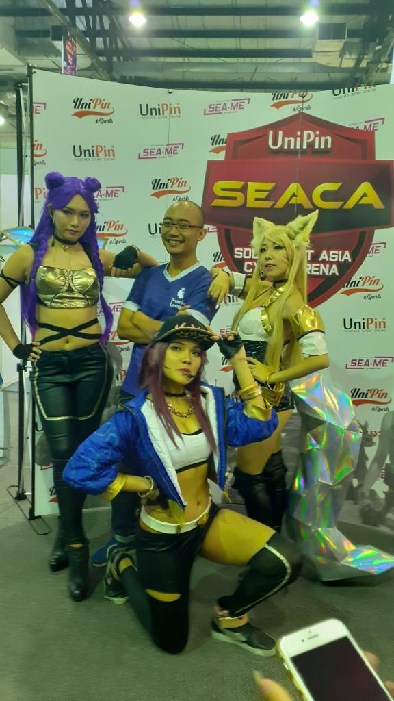 UniPin Mengadakan Turnamen eSports Berskala Internasional SEACA