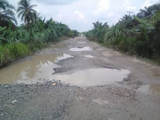 Jalanan Rusak di Bagan Batu-Rohil, Tanggung Jawab Siapa?
