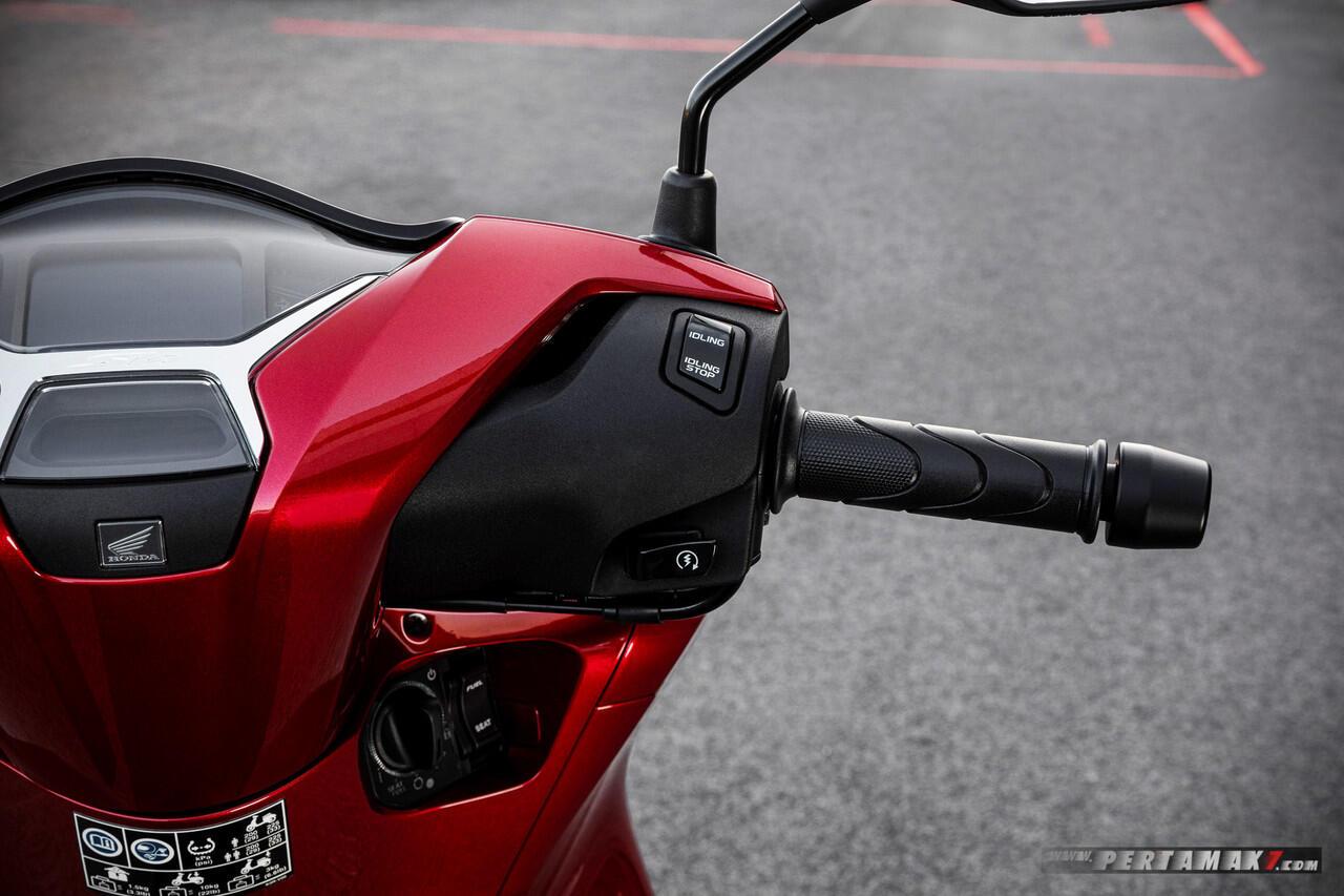 Susul Yamaha, Inilah Skutik 125cc Satu Satunya Honda Yang Sudah Pakai Mesin 4 Klep