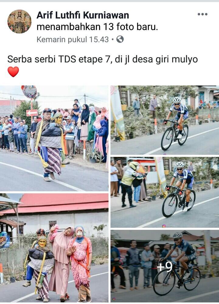 Tour de Singkarak 2019, Etape 7-8 Kerinci Jambi Jadi Rute Terindah. Pecah Rekor MURI!
