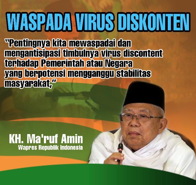 Waspada! Wapres Ingatkan Virus Diskonten Bisa Akibatkan Aksi Massa