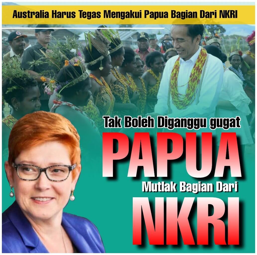 Australia Harus Tegaskan Akui Papua Bagian NKRI