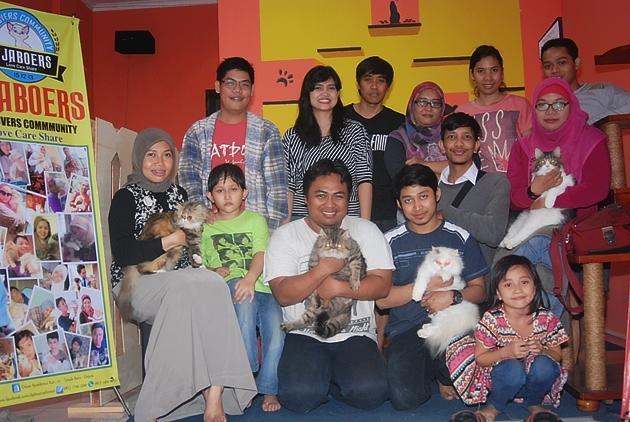 Community D'jaboers Cat Lovers, Mencintai Untuk Dicintai Dalam Kehidupan!