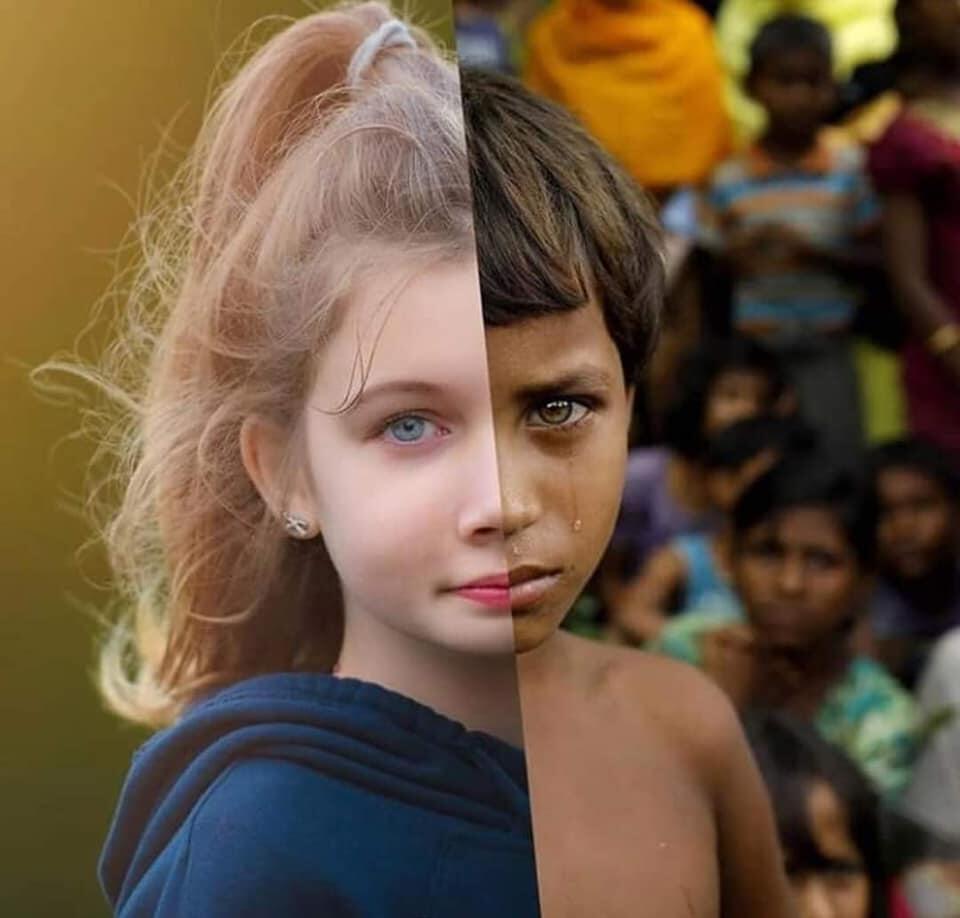 Dua Sudut Pandang Yang Sama Tetapi Menggambarkan Sisi Kehidupan Yang Berbeda