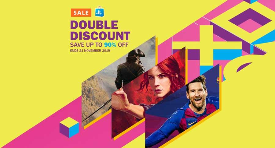Double Discount up to 90% off untuk Game BARU di PlayStation Store | 02 November 2019