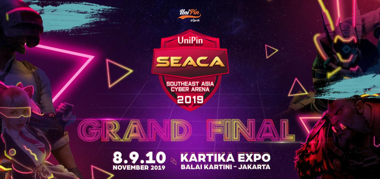 Grand Final UniPin SEACA 2019 Dimulai, Ini Deretan Fakta Menariknya!