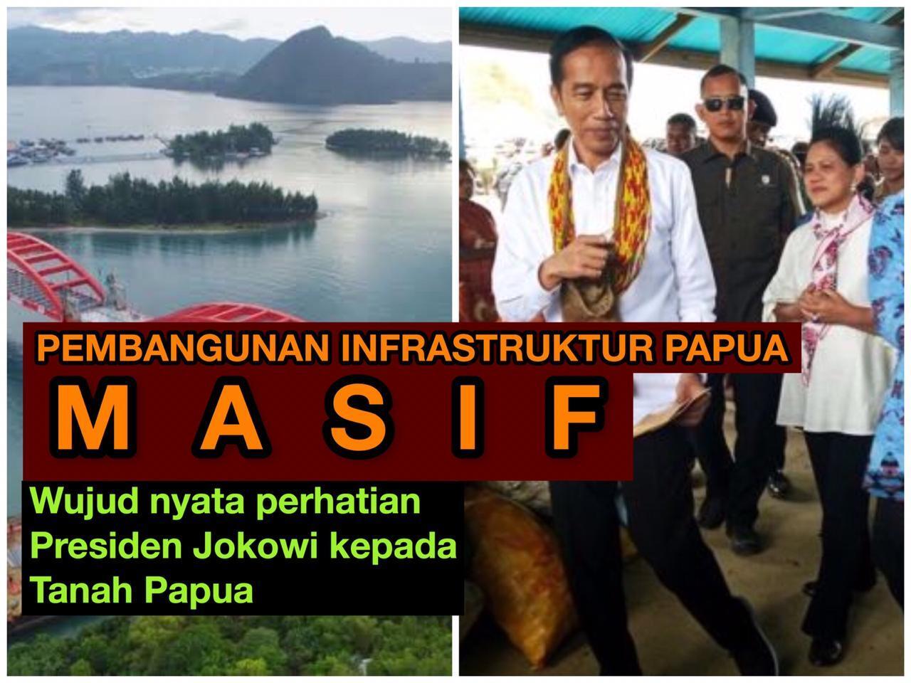 Presiden Jokowi Terus Membangun Papua, Inilah Realisasi dari Komitmen Memajukan Papua