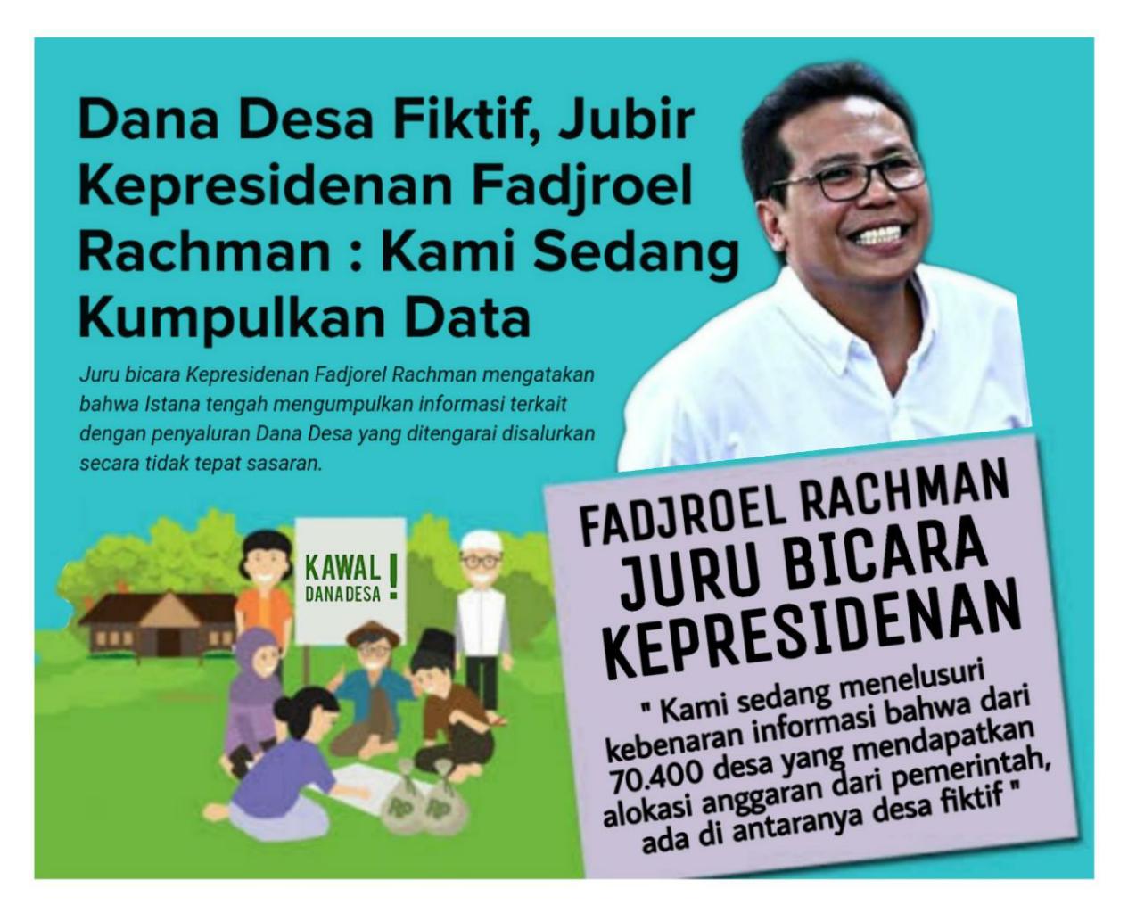 Isu Desa Siluman Mencuat, Pemerintah Gerak Cepat Selidiki Data dan Informasi Ini