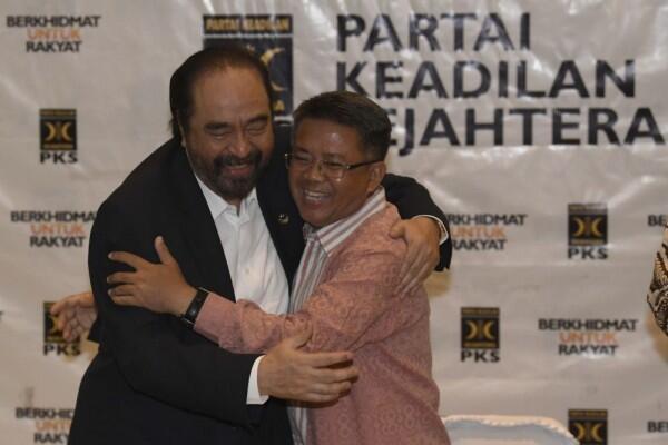 Disebut Emosional, Surya Paloh Yakin PDIP Tak Tersinggung Pidatonya