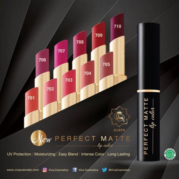 Rekomendasi 5 Lipstik Matte Lokal Awet di Bibir dan Harganya Ekonomis