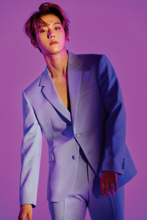 "11 Pesona Tatapan Baekhyun Exo, Si ""Mr. Eyeliner"""