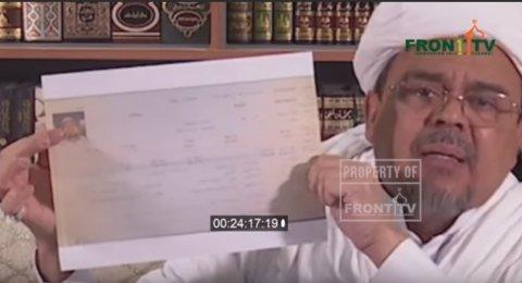 Habib Rizieq Klaim Dicekal di Saudi Karena Permintaan Pemerintah Indonesia