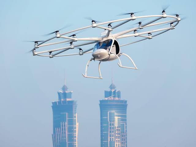 Wow! Air-Taxi (Taksi Udara) ini Bisa Agan Order Seperti Gojek