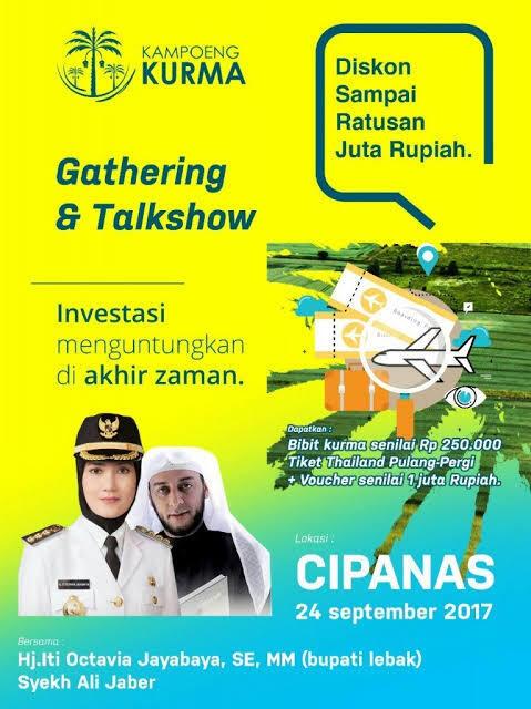 Investasi Bodong Kampoeng Kurma Manfaatkan Syekh Ali Jaber dan Momen 212