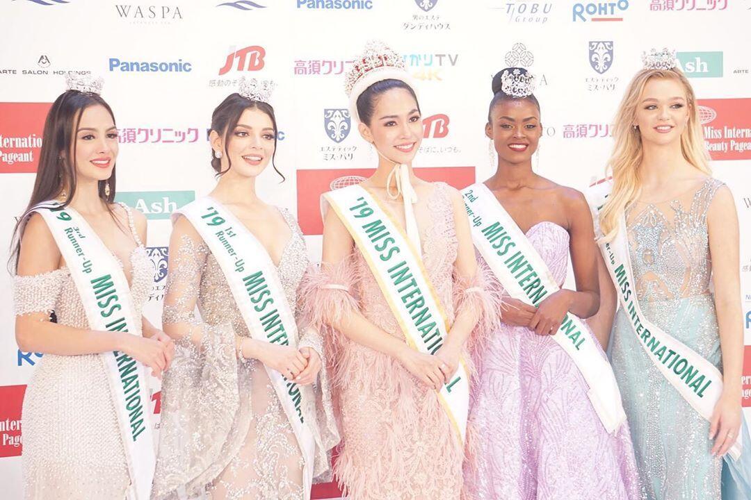 Puteri Indonesia Lingkungan 2019 Berhasil Tembus 8 Besar Miss International 2019