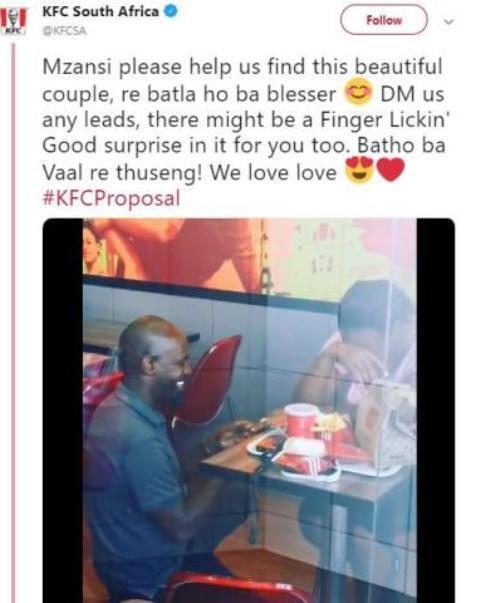 Pria Ini Melamar Pacar di KFC, Awalnya Dihujat Netizen Tapi Malah Dapat Sponsor Nikah