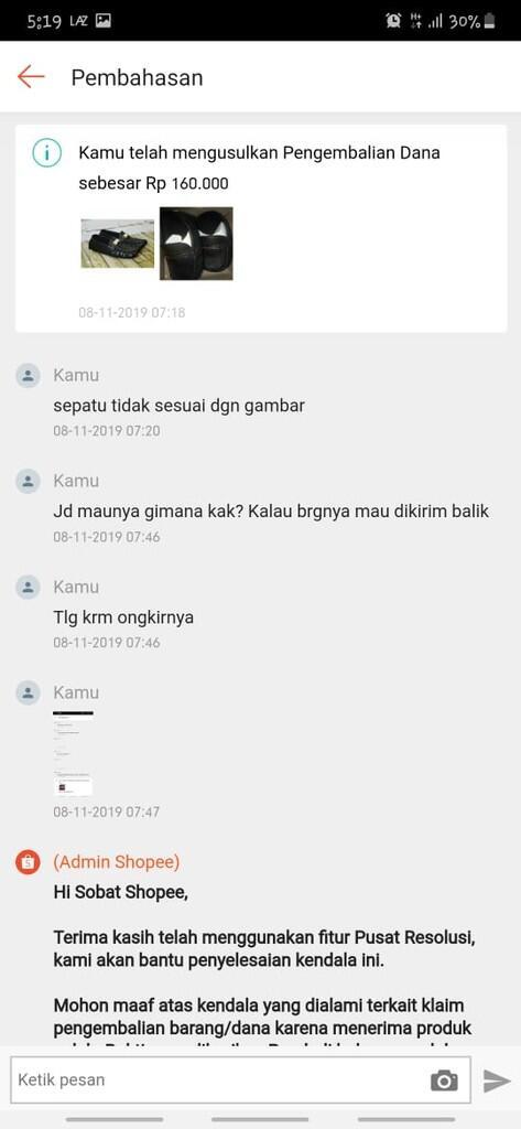 PIKIR ULANG JIKA MAU BELANJA DI SHOPEE - DNGSTORE (PUSAT SEPATU INDONESIA)