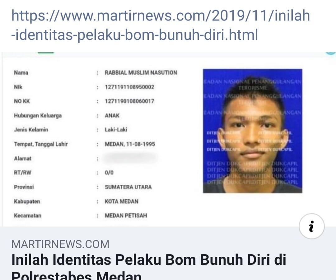 Bom Bunuh Diri Di Polrestabes Medan, Pelaku Pakai Jaket Ojol !! Kok Malah Janggal?