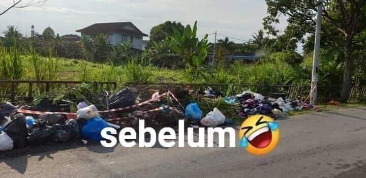 Makam Buatan ala Netizen Ini Terbukti Ampuh Untuk Mencegah Buang Sampah Sembarangan