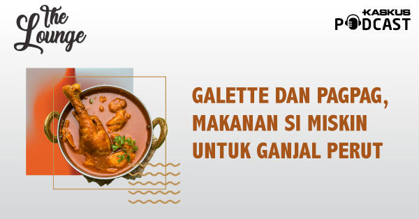 Galette dan Pagpag, Makanan Si Miskin untuk Ganjal Perut